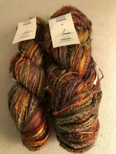 Prism Custom Dyed Yarn - Tame Stuff - Colorway Earth - 1 and 1/2 skeins