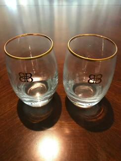 A PAIR OF BAILEYS GLASSES I Perfect for the Home Bar