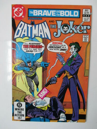 BRAVE AND BOLD 191   VFNM  (JOKER) (COMBINED SHIPPING) (SEE 12 PHOTOS)