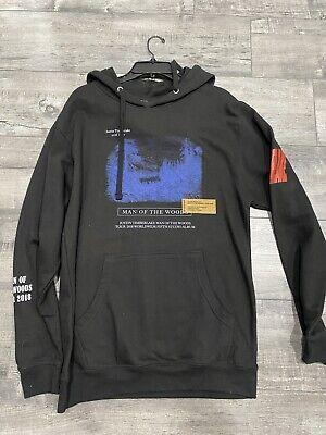 Heron Preston Justin Timberlake M Medium Hoodie MAN OF THE WOODS tour sweatshirt