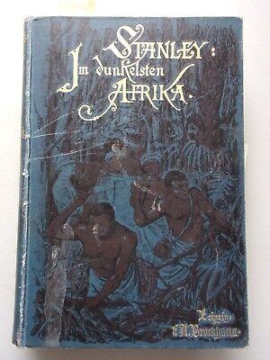 Im dunkelsten Afrika Aufsuchung Rettung Rückzug Emin Pascha's 2. Band 1890
