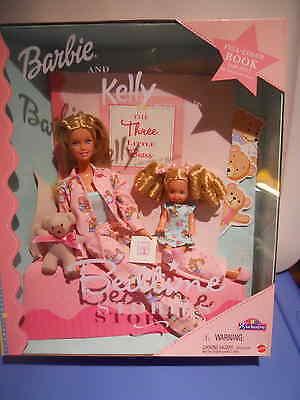 Barbie BEDTIME STORIES 3 Bears w/ Kelly TRU Exclusive 2000 NRFB