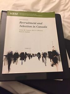 Recruitment and Selection in Canada 5th edition  Kitchener / Waterloo Kitchener Area image 1