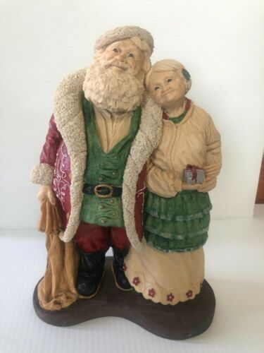 Santa and Mrs. Claus by Ken Memoli  The Legends of Santa Clause 5979/7500 1992