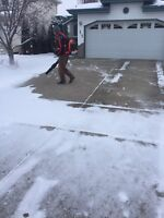 Monthly Snow Removal Service