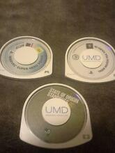 Three PSP GAMES Enfield Port Adelaide Area Preview