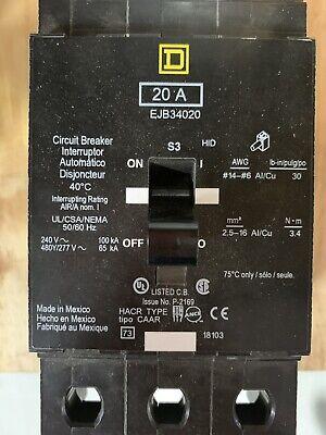 Square D Breaker Ejb34020
