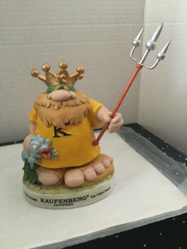 King Kaufenberg Enterprises T-Shirt People Advertising Figure
