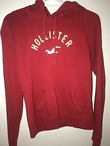 Red Hollister Sweater
