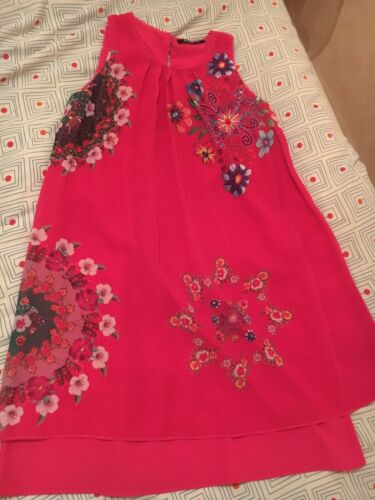 Robe desigual rose collection ete 2019 taille 40