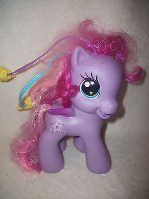My Little Pony Large Purple Pony With Hair Berets Attachments