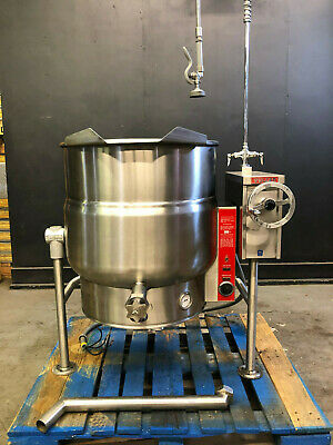 Vulcan 40-gallon Velt-40 Tilting Steam Jacketed Kettle Electric In 208v 3-phase