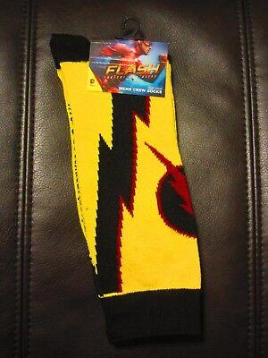 DC Comics Reverse Flash Socks * New * Cosplay * NWT * Size 10-13 * Shoe 8-12](Dc Comics Cosplay)