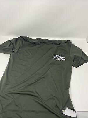 Satisfy Running Deserter Men's Short sleeve Top Army Green Size 1 (Small)