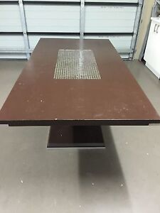 9 piece dining table Hoxton Park Liverpool Area Preview