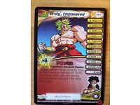 Dragonball Z Collectible Card Game Promo Pack Broly the Calm Silver Foil