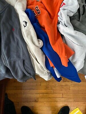 Hoodies- Lot of 6. Varying Brands And Conditions. Nike Polo