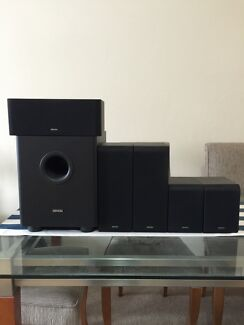 DENON SYS-391HT - 5.1CH 3D SURROUND SPEAKER PACK INC SUBWOOFER Neutral Bay North Sydney Area Preview