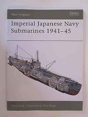 Osprey Book: Imperial Japanese Navy Submarines 1941–45 - New Vanguard 135