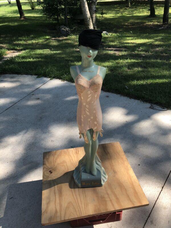 "Antique Bien Jolie Mannequin Corset 1920's Old King Cole Store Display  Doll 33"""