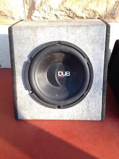 12inch 500W DUB-MAG Audio Sub For Sale Glandore Marion Area Preview