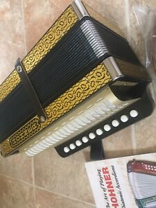 For Sale -  Hohner 4 Stop German Style Accordion