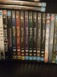 All Harry Potter Movies (set) Maryland Newcastle Area Preview