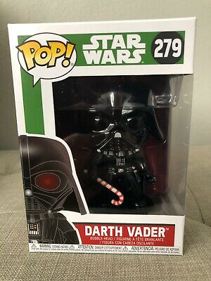 Funko POP Darth Vader Candy Cane #279 Star Wars Holidays Christmas