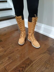 Brand new Timberland high boots size 8!  And BCBG boots!