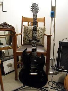 ESP SG style guitar, custom neck, Rockfield pups Gosnells Gosnells Area Preview