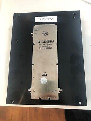 Rf-lambda Amplifier W Attached 24vdc Fan