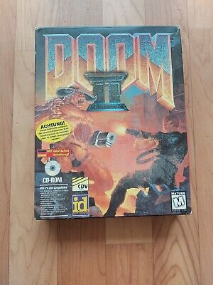 Doom 2 - PC Game - Big Box (1994) - sehr selten for sale  Shipping to Nigeria