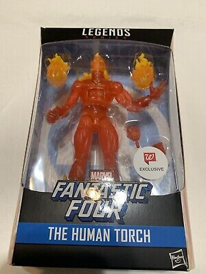 New Marvel Legends Series: Human Torch Action Figure Walgreens Exclusive 6-inch