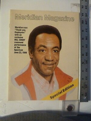 Meridian Magazine Bank  Bill Cosby Cover For Employee Show At Spectrum 1986