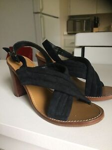 Size 9.5 leather sandals