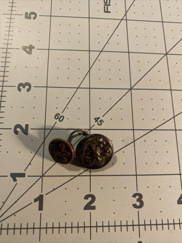 2 Older Boy Scout Buttons 37E-537B