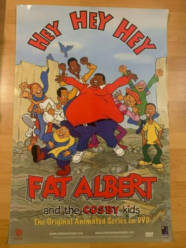 "Fat Albert & The Cosby Kids Promo 24"" x 36"" Poster Hip Hop Rap Art Cartoon Bill"