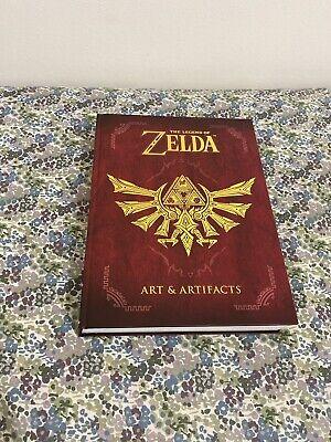 The Legend of Zelda: Art and Artifacts by Nintendo (2017, Hardcover)