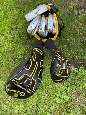SUPERB 5 CLUB SET OF NIKE SQ MACHSPEED JUNIOR GOLF CLUBS. SUIT 3ft 6 TO 4ft