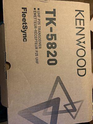 Kenwood Tk-5820k Uhf P25 Mobile Radio Digital 450-520 Mhz