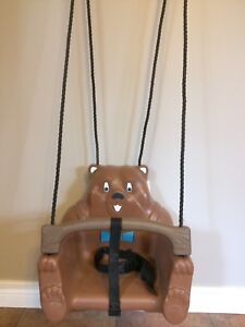 Child's outdoor swing
