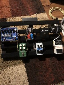 Fully loaded pedalboard