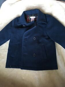 Toddler boys double breasted jacket