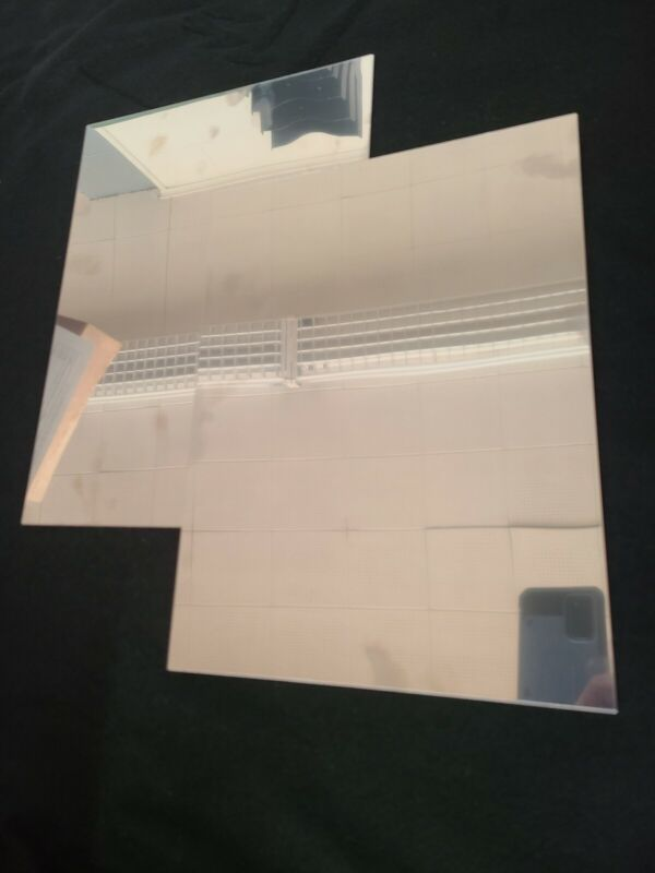.022 Stainless Steel 304 Brite Sheet metal stock 17.5 x 17.5,  2PCS. CLEARANCE