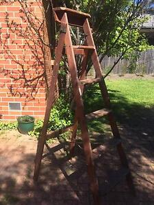 Mote wooden ladder 6ft Deakin South Canberra Preview
