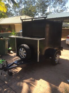 6/4 box trailer with extended tow bar & rego  Nerang Gold Coast West Preview