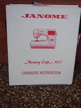 Janome Memory Craft 9000 sewing machine accessories Sylvania Waters Sutherland Area Preview