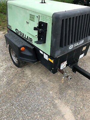 Sullair 185q Diesel Powered Air Compressor