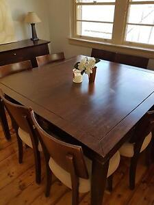 Dining table and 8 chairs Beverley Park Kogarah Area Preview