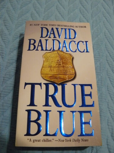 True Blue by David Baldacci (2010, Paperback) - A Great Chiller